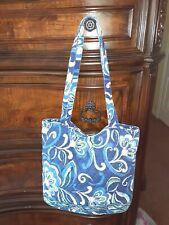 Vera Bradley Medium Handbag Purse with Front Zipper 11 x 11 Shoulder Bag