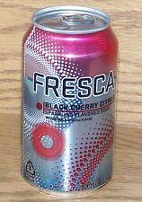 NM 2009 USA Coca-Cola Brand FRESCA BLACK CHERRY CITRUS FULL CAN w/CONTENTS