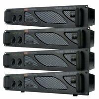 EMB Pro PA2400 1200W 2 Channel Power DJ Amplifier 2U Rack Mount Amp Stereo