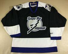 Vintage Tampa Bay Lightning Hockey-NHL CCM Jersey SizeM