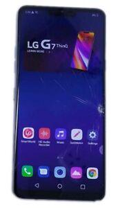 LG G7 ThinQ G710 64GB GSM+CDMA Locked Octa Core 64GB Android Platinum Gray