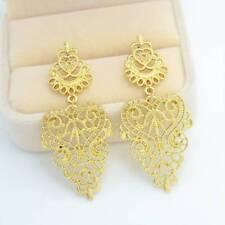 1Pair Fashion Long Pierced Drop Dangle Earrings Mix Color for Women Girl Gifts