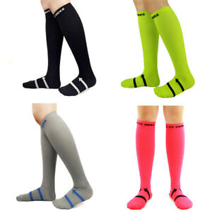 Men's Compression Calf Socks 20-30mmHG Stockings Graduated Support Multicolor