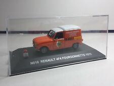 1/43 NOSTALGIE RENAULT 4 F4 FOURGONNETTE 1973 SERVICE RENAULT  EN BOITE F6