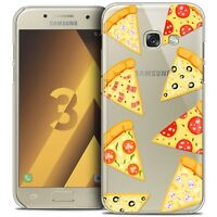 Coque Crystal Pour Samsung Galaxy A3 2017 (A320) Extra Fine Rigide Foodie Pizza