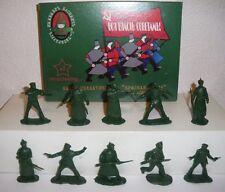 Guerre civile russe. Bolcheviks et Armée Rouge. 1/32 petits soldats. Série 2