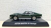 1/64 Kyosho ASTON MARTIN V8 VANTAGE GREEN diecast car model