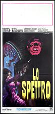 CINEMA-locandina LO SPETTRO barbara steele, peter baldwin, ROBERT HAMPTON