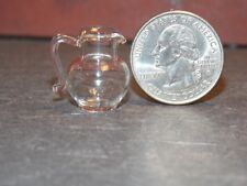 Dollhouse Miniature Glass Pitcher Jug 1:12 one inch scale A36 Dollys Gallery