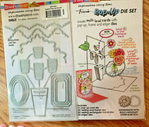 STAMPENDOUS, CLING RUBBER STAMPS, DIE SETS,NIP, RETIRED, HTF