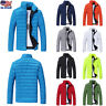Mens Puffer Bubble Down Coat Jacket Lightweight Quilted Padded Packable Outwear