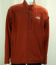 THE NORTH FACE~MINT!!~MEN'S XL RED ZIP UP FLEECE LINED SOFTSHELL JACKET