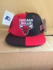 Vintage Chicago Bulls Starter Snapback Hat Cap NEW WITH TAGS NBA