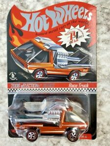 Hot Wheels Redline RLC Race Truck Orange 2006 sELECTIONs Adult Collected Toy Car