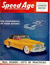 1953 SPEED AGE October 1936 DUESENBERG Lincoln Continental Fina Sport Vignale