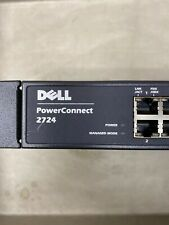 Dell PowerConnect 2724 24-Port Gigabit Network Managed Switch