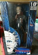 "Hellraiser Pinhead  18"" Motion Activated Sound Brand New In Box Neca Toys"