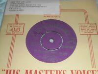 "Ronnie Hilton On The Street Where You Live 7"" Vinyl Single 1958 HMV 45-POP 479"