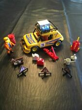 Playmobil Rally Race Car Team Figures People Accessories Lot
