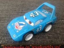 Disney Cars Talking Car / Sounds - The King Dinoco #43 Blue - Approximately 1:32