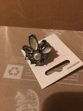 Matthew Williamson Adjustable Butterfly Ring