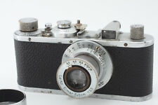 Leica I Mod.A Chrome 1935yr s/n 160717 + Elmar 50mm F3.5 Lens from Japan m036