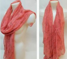 Polyester Asymmetric Scarves and Wraps for Women