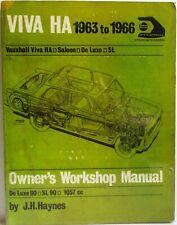 Haynes - Opel Viva Ha 1963 à 1966 Manuel Atelier Propriétaire - Occasion État