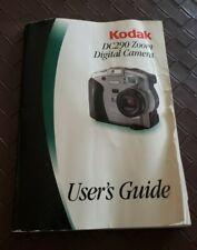 Kodak Dc290 Zoom Digital Camera User Guide Manual Book Only