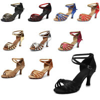 Ballroom heeled Latin Dance Shoes for Women/Ladies/Girls/Tango&Salsa/5CM and 7CM
