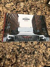 2018 GMC ACADIA 46-page Original Sales Brochure FAST SHIP! NICE :)