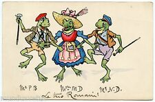 Frogs Humanisées. Humanized Frogs
