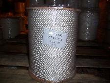 7/8 x 600 Nylon rope / dock line / anchor line / climbing rope