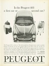 1961 Peugeot 403 Coupe PRINT AD