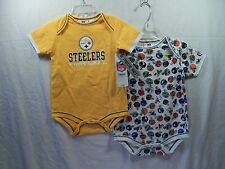 Pittsburgh Steelers NFL Bodysuit (2 piece) Infant 24 Months  NEW