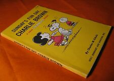 Sunday's Fun Day Charlie Brown by Charles M. Schulz A Peanuts Book Vintage 1968