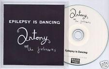 ANTONY & THE JOHNSONS Epilepsy Is Dancing UK promo test CD