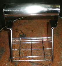 patty press, press or chilli meat masher, all stainless, hvy commercial, 5004102