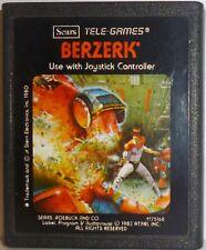 Berzerk Atari 2600 (Vintage) Video Game Cartridge Stern Electronics Used 1980