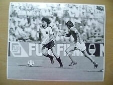 100% Org Press Photo-1982 WC FINALS AUSTRIA v FRANCE,Bruno Pezzey,Bernard Genghi
