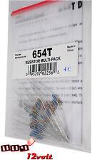 Directed DEI 654T Resistor Multi-Pack - 44 Assorted Resistors