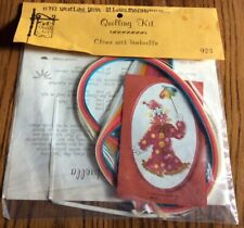Vintage Quill Art Quilling Kit Clown with Umbrella #923