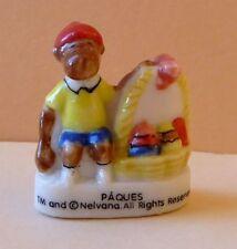 Fève Babar le Roi de la Fête (embouts de crayon) - 2003 - Pâques