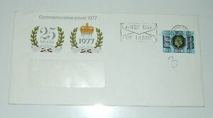 FIRST DAY ISSUE SILVER JUBILEE Commemorative cover 1977