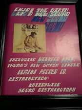 Thumbs Charlie Wounded Knee Rare Original Promo Poster Ad Framed!