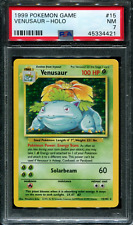 Venusaur - 15/102 - Base Set - PSA 7 - Holo