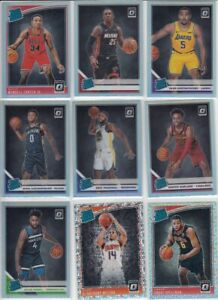 2019-20 10 card OPTIC rookie lot ALL PRIZMS Silvers and more