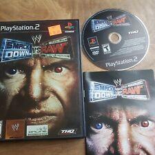 WWE SmackDown vs. Raw  (Sony PlayStation 2, 2007) PS2 CIB