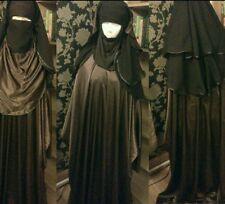 Khimar Velo burqa Jilbab Abaya Caftano Maschera Niqab Islam Copertura acquista 3 ottenere 1 GRATIS