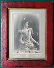 Princess Louise Margaret of Prussia Duchess Connaught Signed Walery Photo 1893